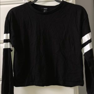 Semi Cropped Long Sleeve Shirt